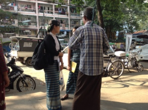 ILF-Myanmar Advocate Greets Released Client