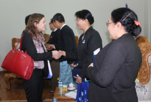 ILF Director Meeting with Myanmar Attorney General
