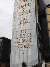 Liberia's Temple of Justice