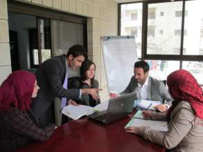 ILF-West Bank at work