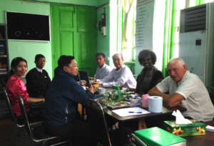 Meeting with Yangon Justice Center
