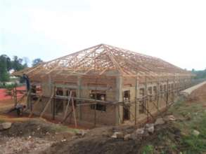 Multipurpose & Dining Hall with walls and roof