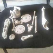 Pieces of a robotic arm