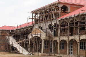 Secondary and Vocational School under construction