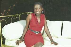 Apicture of Eve smilling after fees had been paid