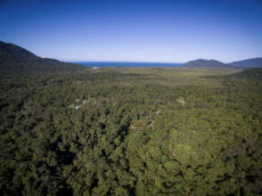 Lot 46 looking back towards the Great Barrier Reef