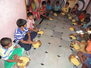 breakfast sponsorship to orphans