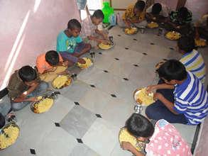 food for children in joyhome orphanage