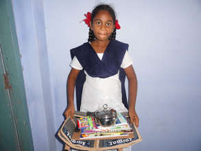 education material support for girl child india