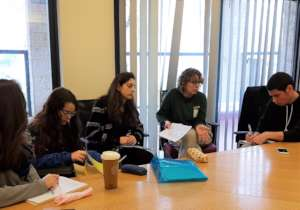 The Zoo's Zoological Director mentors students