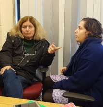 The Zoo's Director of Education mentors a student