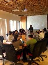 Program participants receive instruction