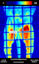Thermal imaging of underbelly