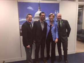 2015 National Bike Summit with Senator Warren