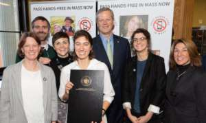 Governor Baker and the Vision Zero Coalition