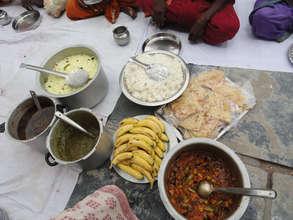 nutritious food for destitute elders
