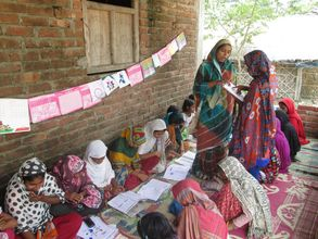 AIF Learning Centre at village Chaundi