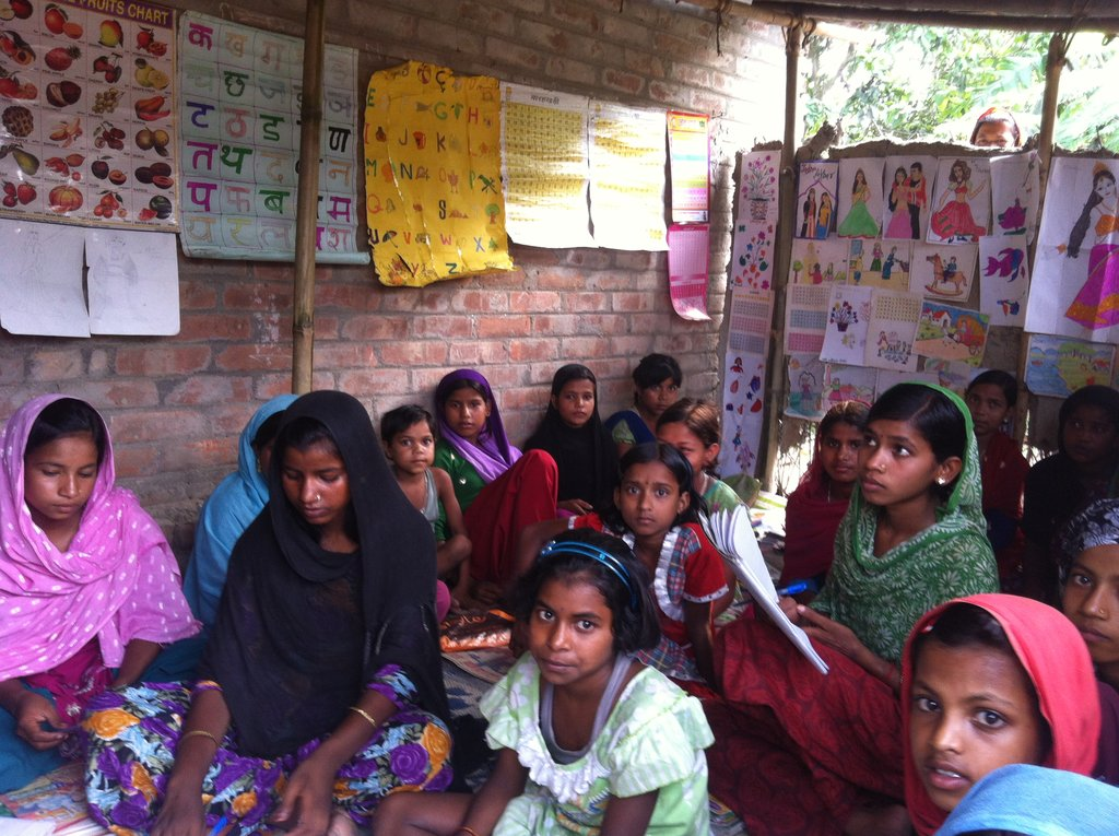 quality education to 300 children at kishanganj