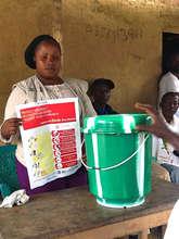 Ebola prevention training