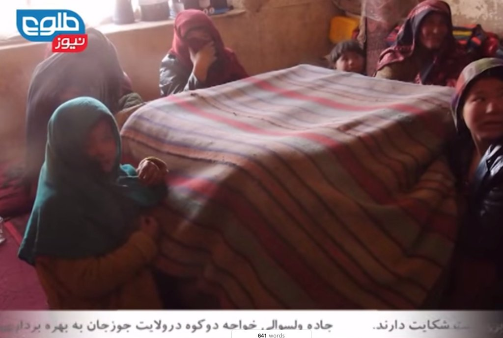 Winterization Aid for Afghan Displaced communities