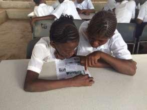 Peer-to-peer work at reading club