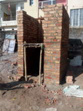 Toilet Cabin Construstion