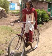 Bicycle Girl - Jyoti