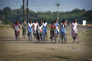 Mann Deshi Bicycle Girls