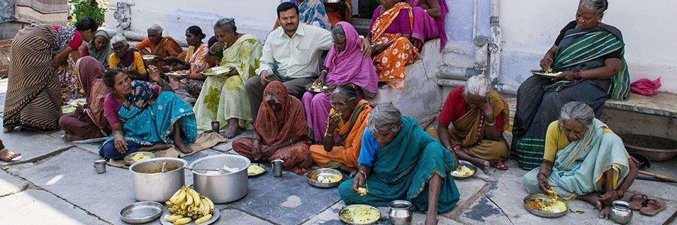 Sponsor Hot Meals for Destitute Elderly Persons