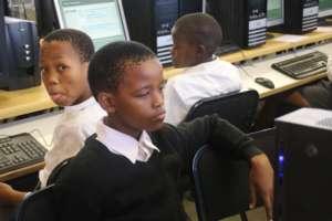 Learner completing assessment