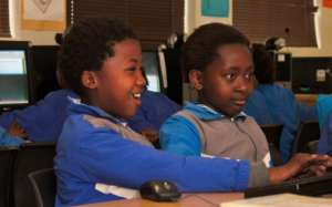 Learners excited about their Maths exericse