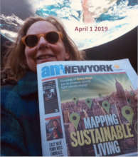 Green Map is covered in AM New York by Jeff Siegel
