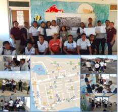 Marine aquatecture service learning in Yucatan MX