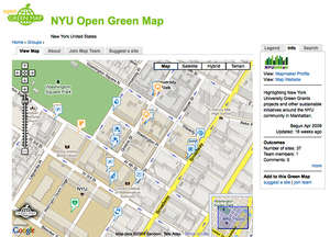 Open Green Map for New York University