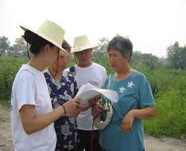 Rural Elders create a legacy Green Map in China