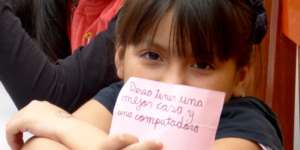 Carmen, 10 year-old child domestic worker