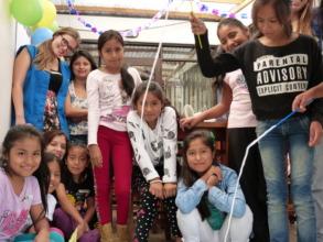Girls at La Casa de Panchita