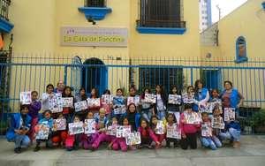 Some of our girls at La Casa de Panchita