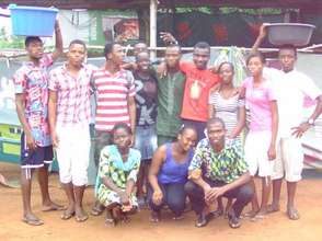 Blue Cross Togo theater group