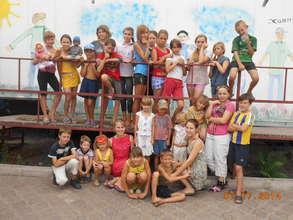 """Children at the """"House Gawan"""" in Ukraine"""