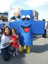 Blue Cross mascot