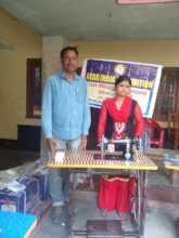Shakila from village Samda
