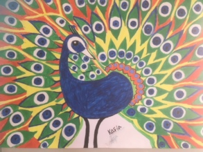 Artwork by FYF women's center participant