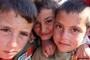 Yezidi children, refugee camp in Duhok