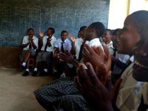 WISER Girls in a Classroom Debate