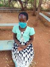 Masked Child at Makindu Children's Centre