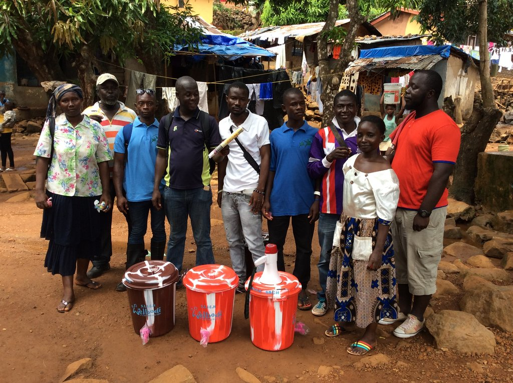 Communities Fighting Ebola in Urban Sierra Leone