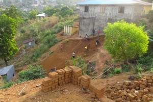 Ebola Children's Home Building Site