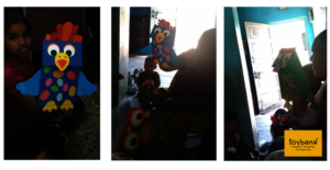 Puppet making and Play through Stories