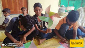 Mental Well-being through play for 56,000 children